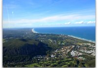 Flying Over Mount Coolum Sunshine Coast