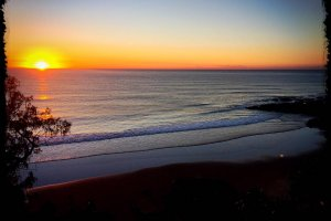 Sunrise Coolum Beach 15082017
