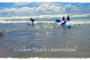 Surfing Lessons At Coolum Beach