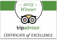 Tripadvisor Certificate Of Excellence Award 2015