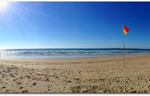 Winters Day On Coolum Beach